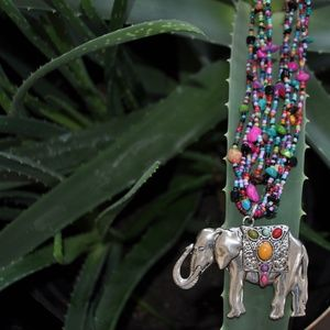 Elephant Massai Necklace